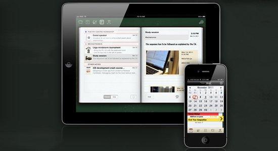Reprodução da página inicial do aplicativo InClass, para organização de tarefas | Crédito: Reprodução