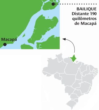 Bailique. Distante 190 quilômetros de Macapá