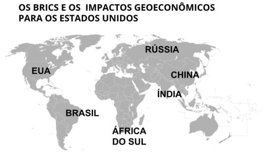 Formação do BRICS e os impactos geoeconômicos para os Estados Unidos