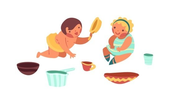 Preparando uma cozinha para os bebês