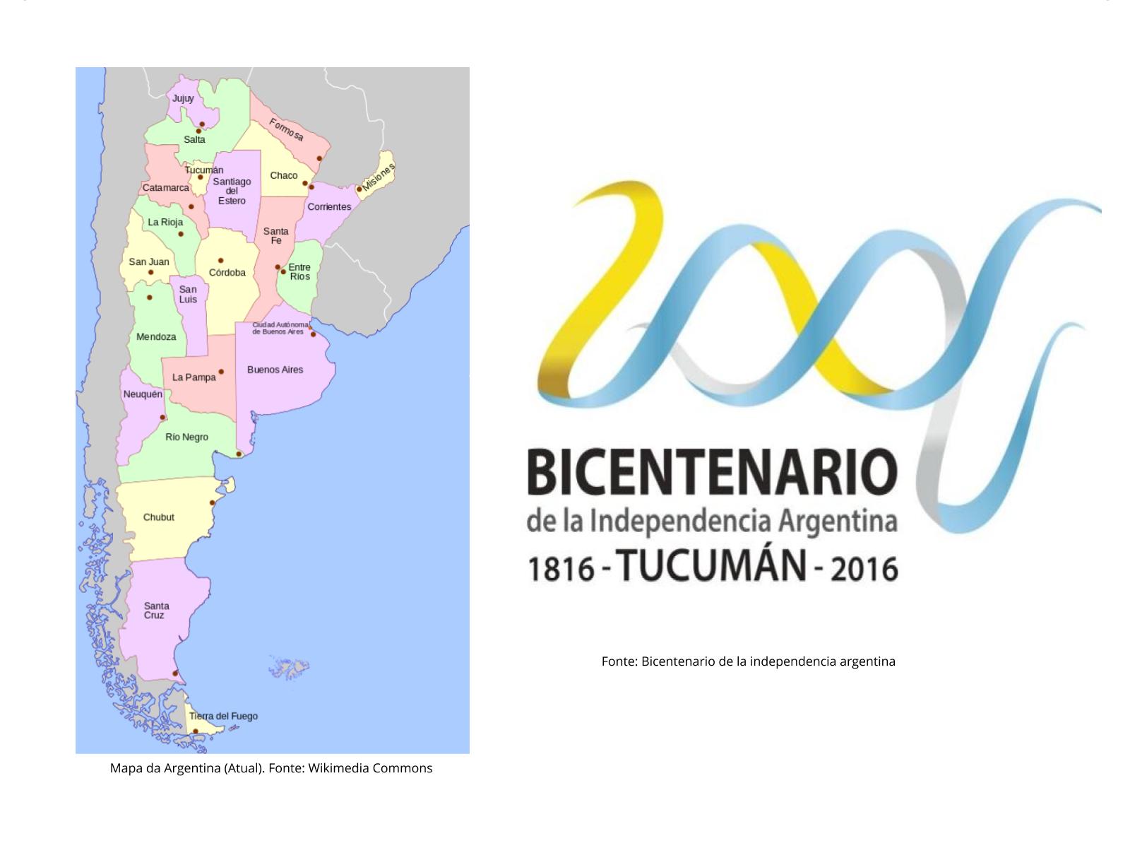 A Independência da Argentina e os conflitos internos posteriores