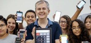 Caso real: como o professor Fabrício levou a calculadora para a sala de aula
