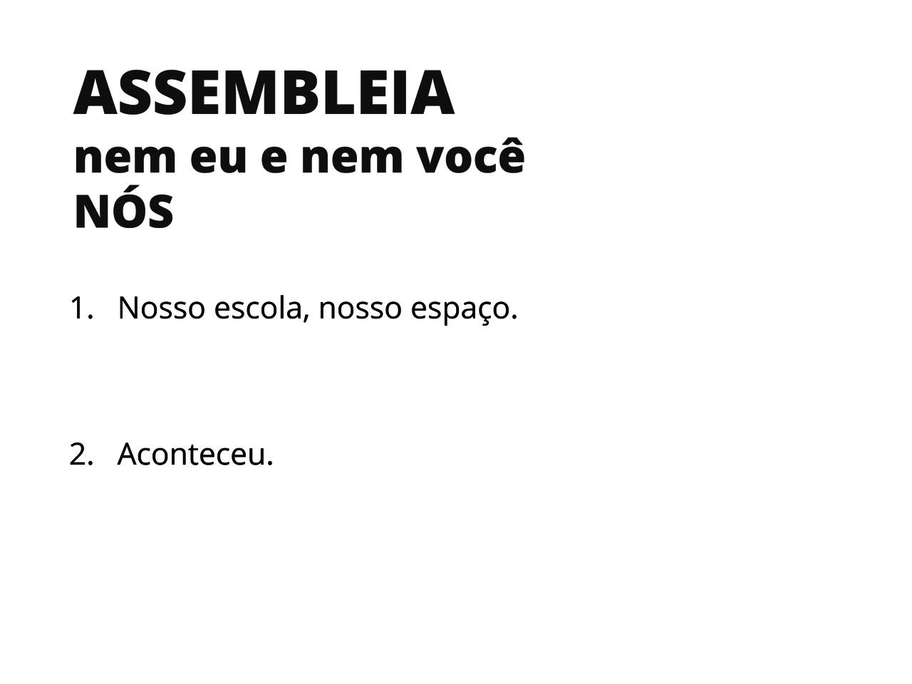 Plano De Aula 5º Ano Língua Portuguesa Assembleia
