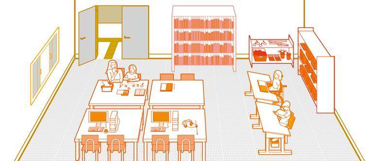 Sala de recursos: múltipla e acessível