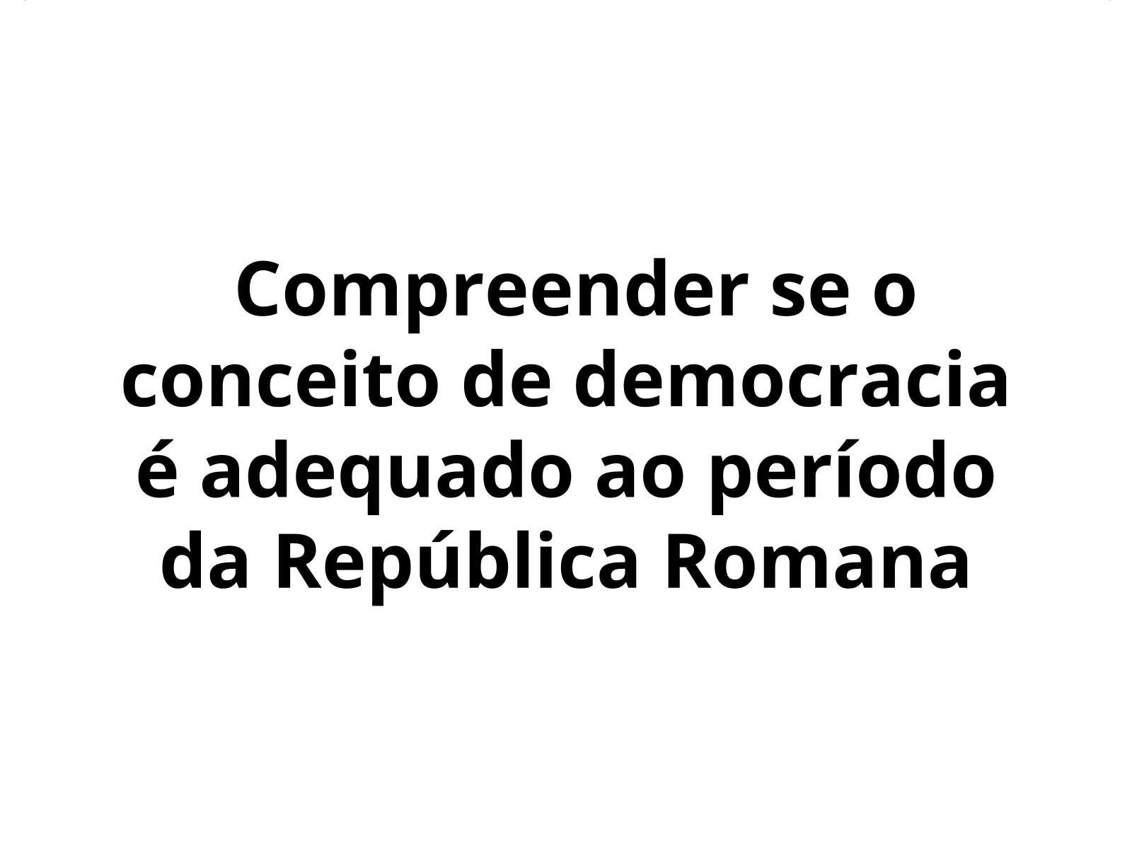 Organização política durante a República Romana