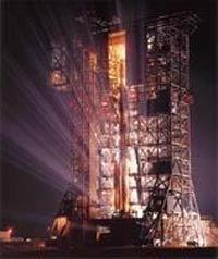 Estação de lançamento da Nasa: os bilhões de dólares gastos com pesquisa espacial poderiam ser usados para acabar com a fome no mundo? Foto: NASA
