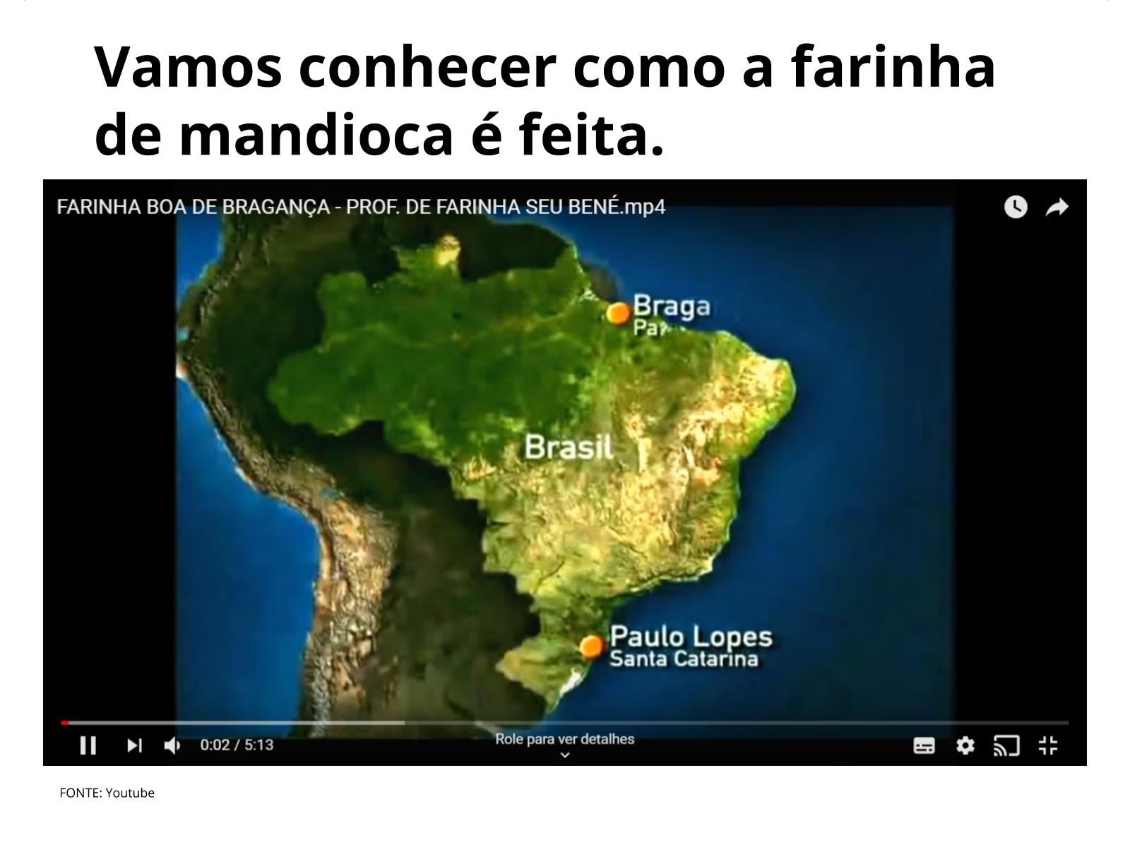 A Culinária Tradicional Brasileira