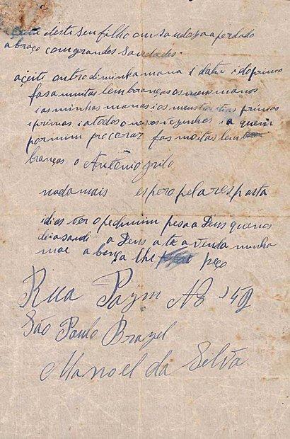 Registros do arquivo do Museu do Imigrante, em São Paulo, foram analisados pela turma. Patricia Stavis