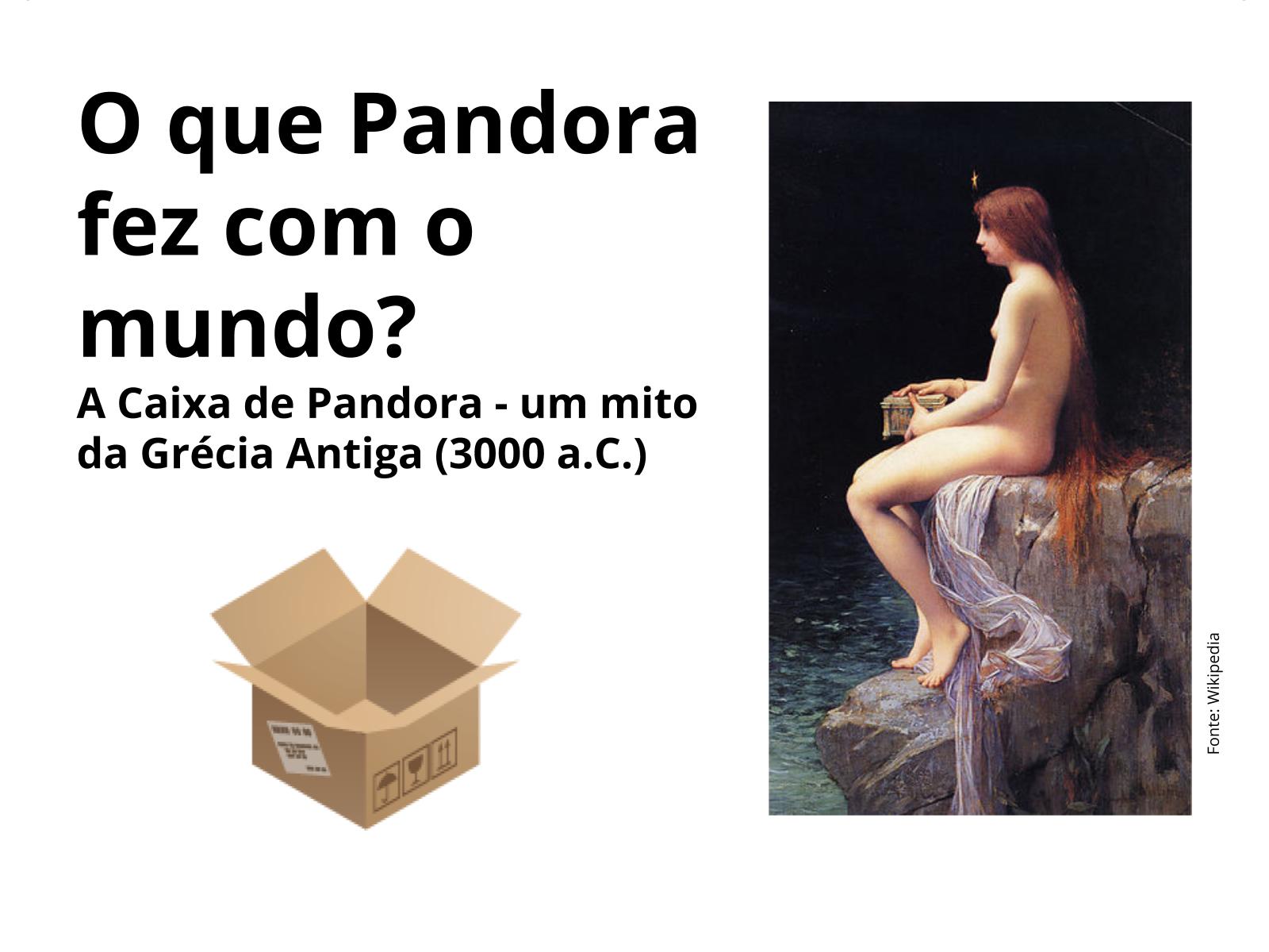 A caixa de Pandora: A religião e os males do mundo