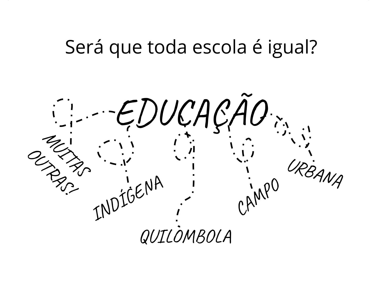 Escola para todos!
