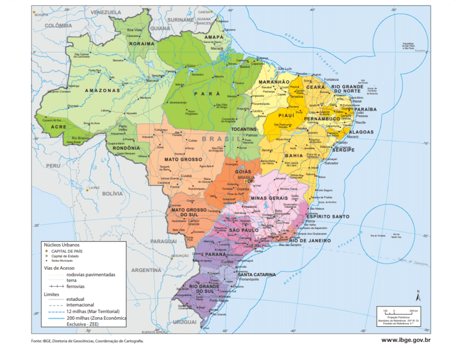 (Trans) formação histórica do território brasileiro