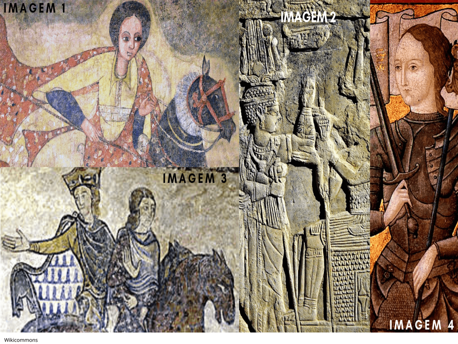 As mulheres e o poder na Antiguidade e na Idade Média