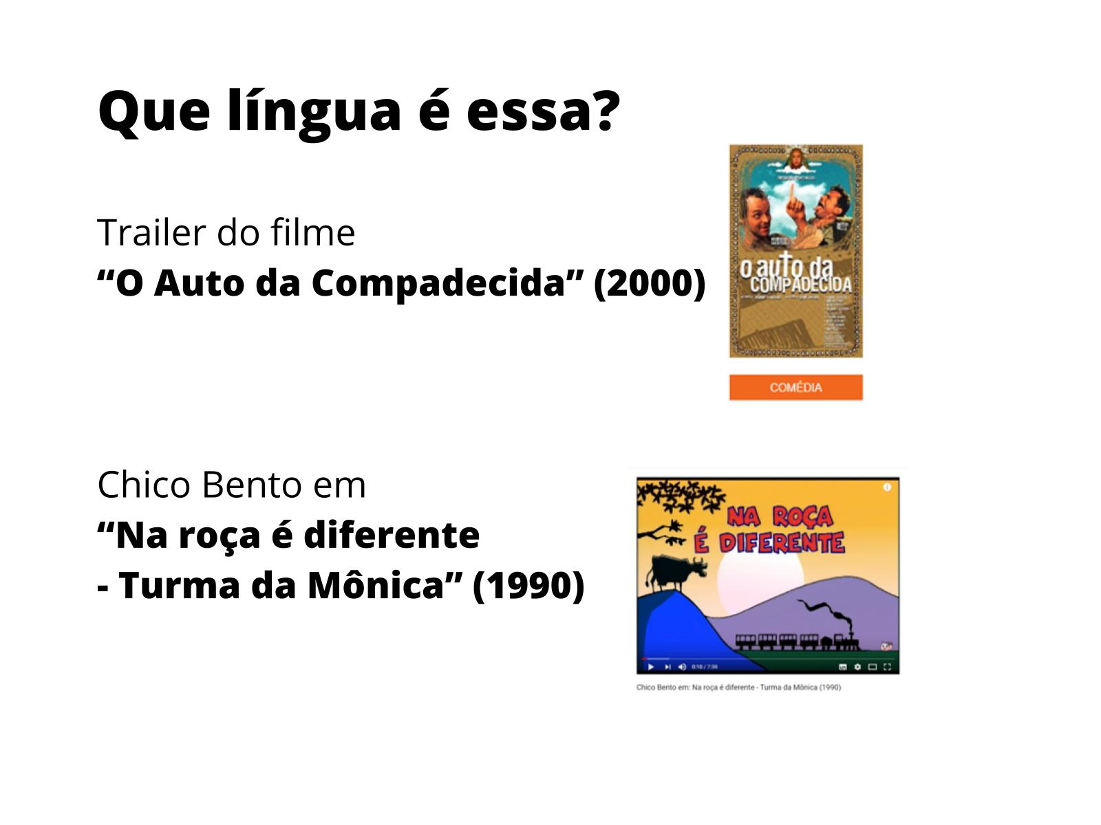 Variedades da língua falada em diferentes situações de comunicação