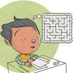 Os estudantes não entendem as orientações. Ilustração: Pedro Hamdan