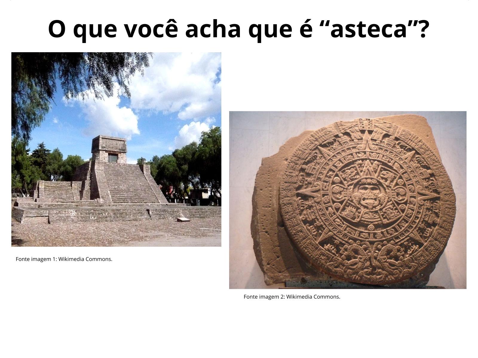Escrita por ideogramas: registro dos astecas