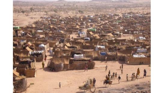 Os refugiados na África