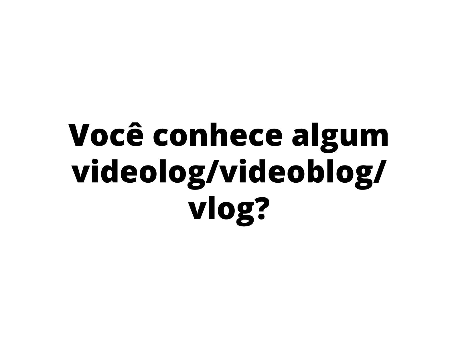 A entonação expressiva no gênero Vlog sobre HQ