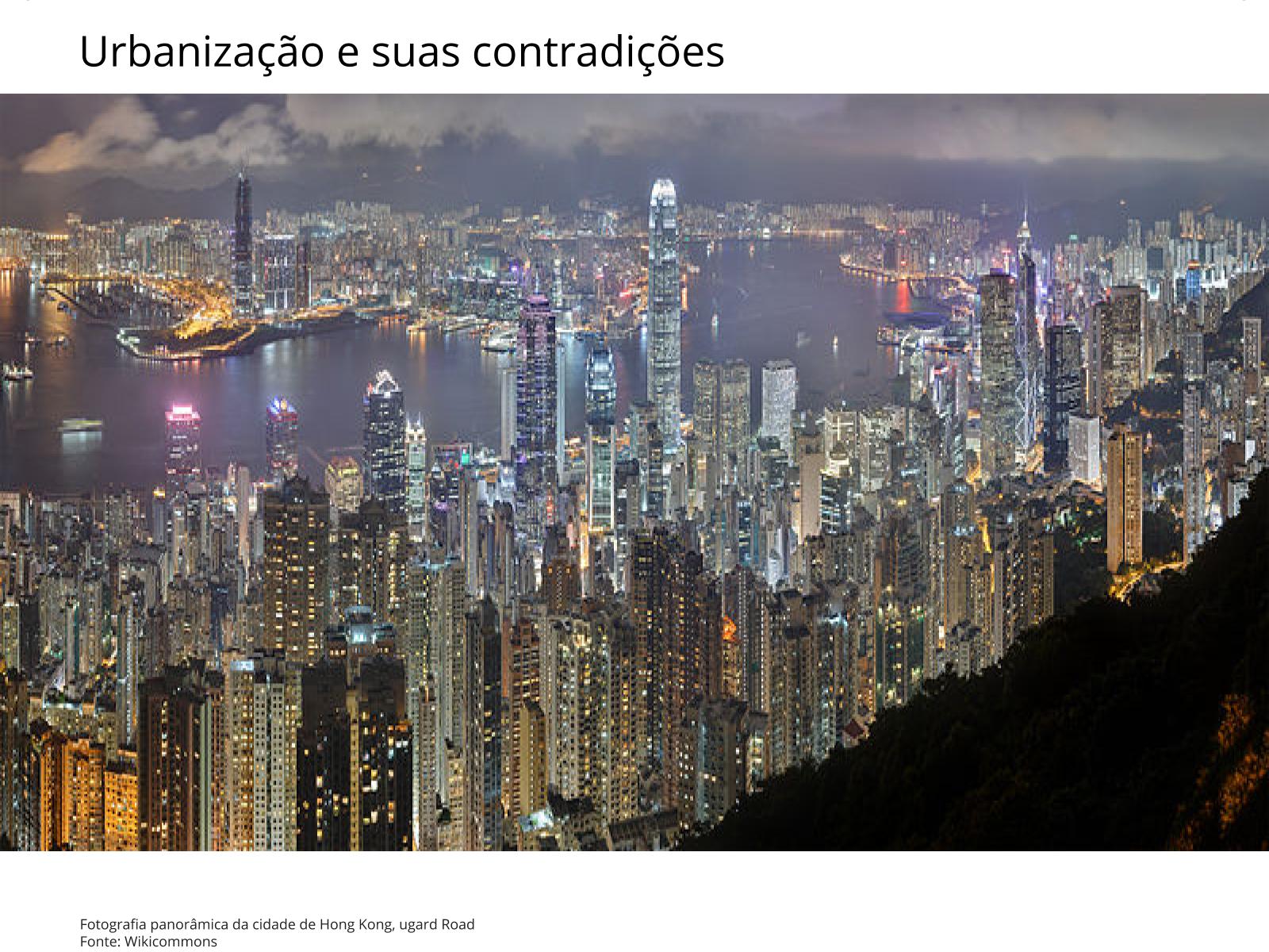 Urbanização da Ásia e as megacidades
