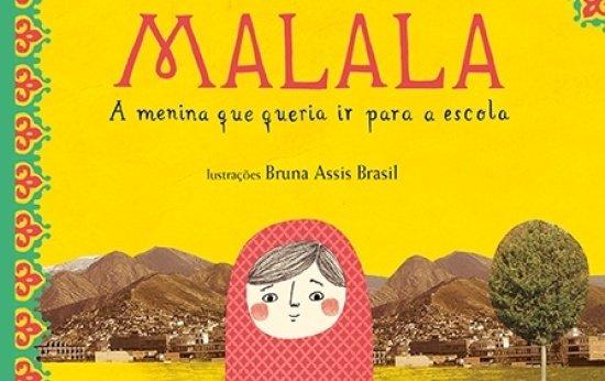 Capa do livro Malala para crianças