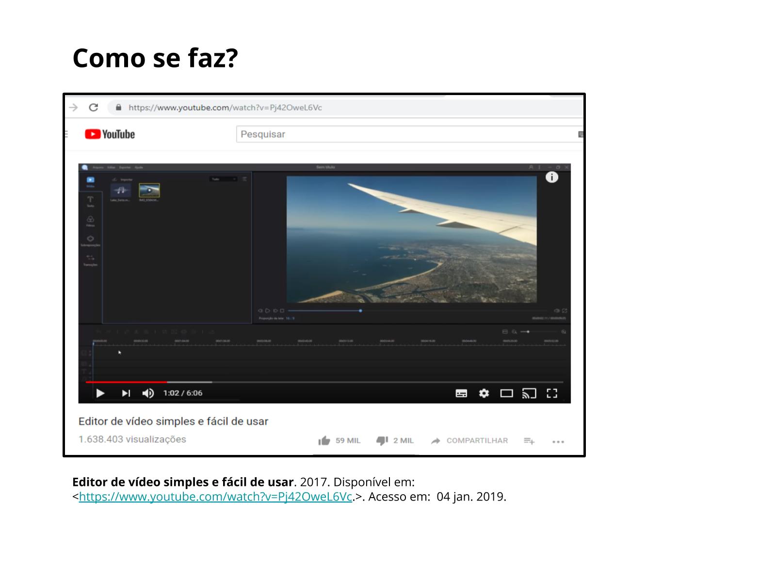 Produção de vlogs
