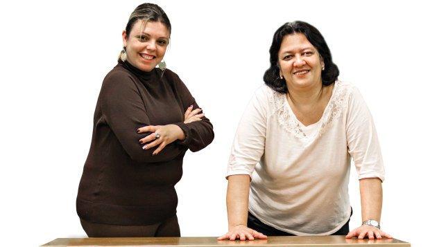 Ingrid e Lara venceram a agressividade de uma mãe explicando a proposta da escola. Silvia Zamboni