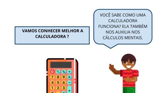 Cálculo mental, as adições e  a calculadora