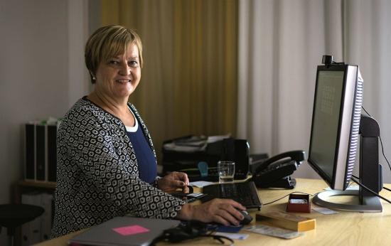 Marjo Kyllönen, secretária de Educação Básica em Helsinque