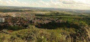 Foto da vista aerea de Senador Canedo