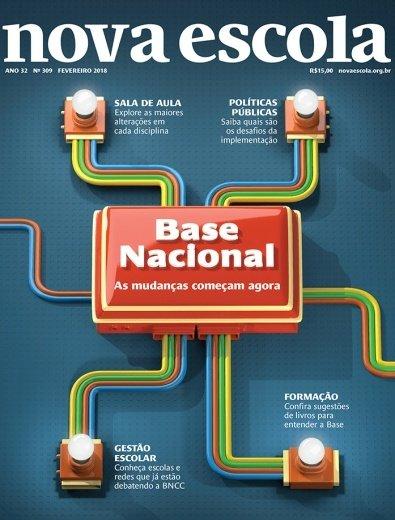 Imagem de capa da revista Nova Escola número 309