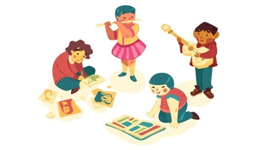Primeiros dias na escola: escolhas para brincar
