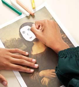 INSPIRAÇÃO O uso de obras consagradas ensina a reconhecer conteúdos, estilos e conceitos