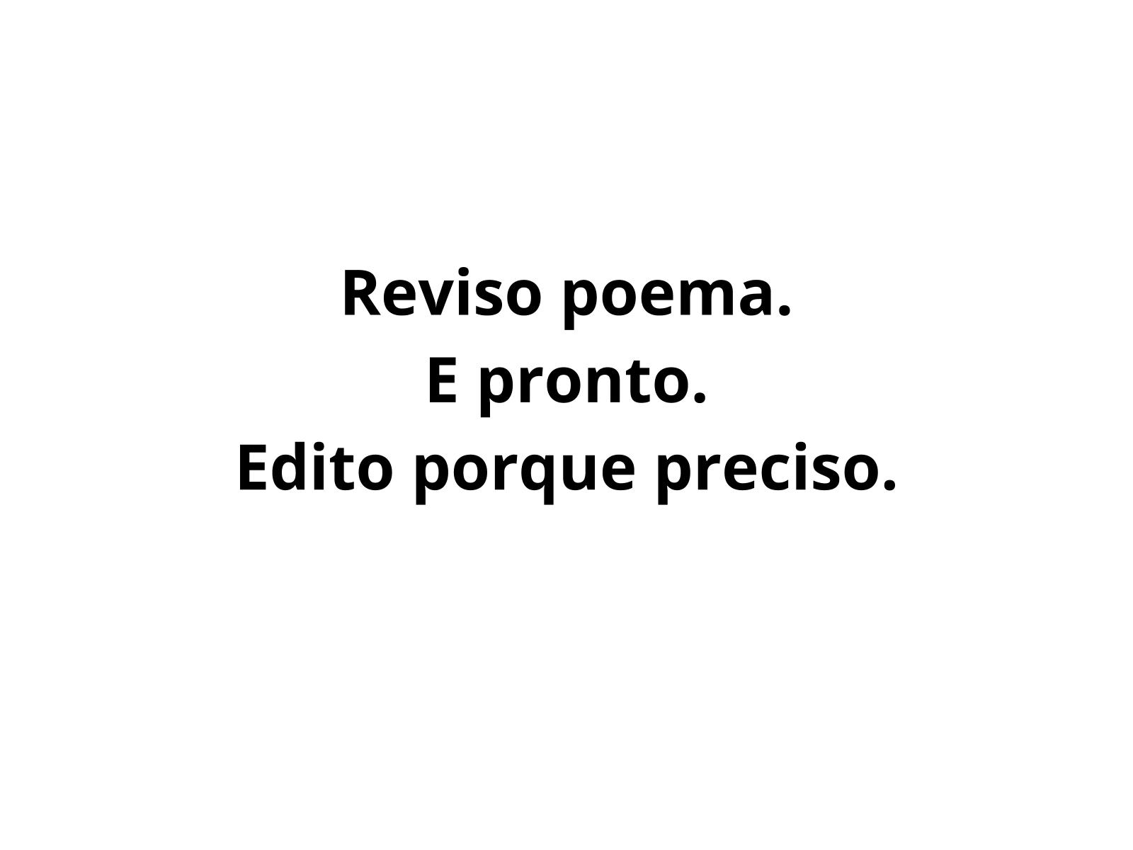 Revisão e edição de poemas concretos e visuais