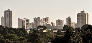 Foto prédios em Cuiabá