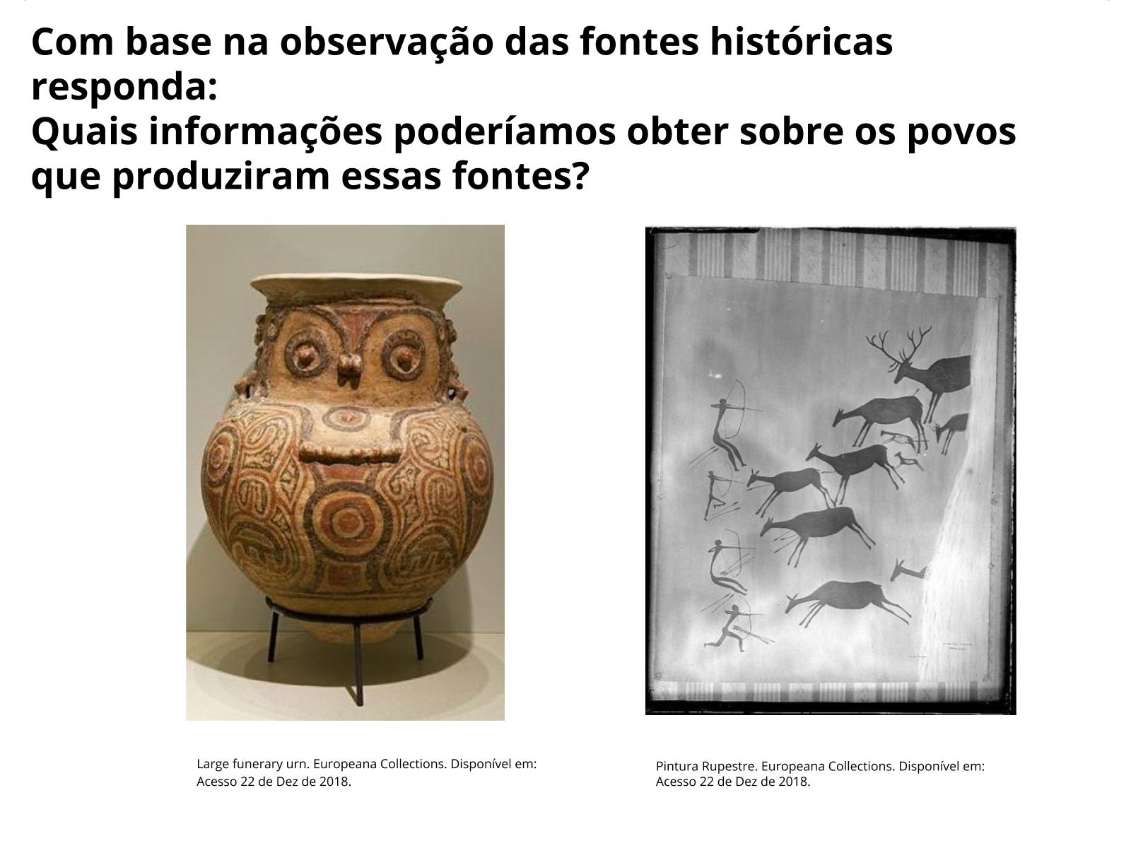 História: Formas de registro