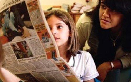 Jornal na sala de aula: leitura e assunto novo todo dia