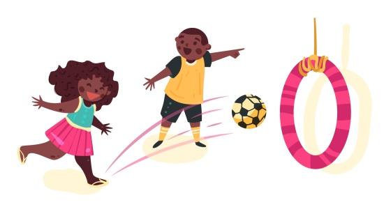 Brincadeiras com bolas
