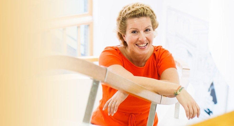 A educadora finlanesa Najat Ouakrim-Soivio, em foto de seu site pessoal