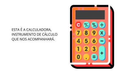 Usando a calculadora