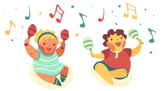 Brincando, cantando e acarinhando