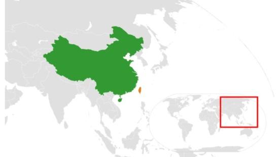 A tensa relação entre China e Taiwan