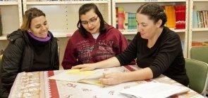 Diálogo mães e a professora