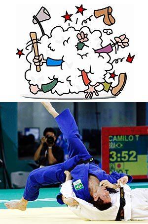 1º etapa: Diferença entre lutas e brigas