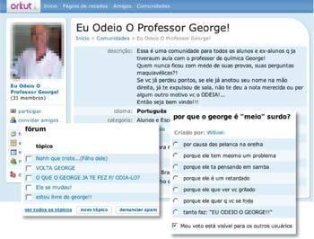 AGRESSÃO GRATUITA - Comentários hostis expõem educadores, que podem, e devem, combatê-los sempre.