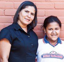 Maria e Lucimar. Foto: Daniela Nader