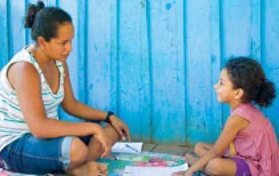 Ensino a domicílio para os pequenos da floresta
