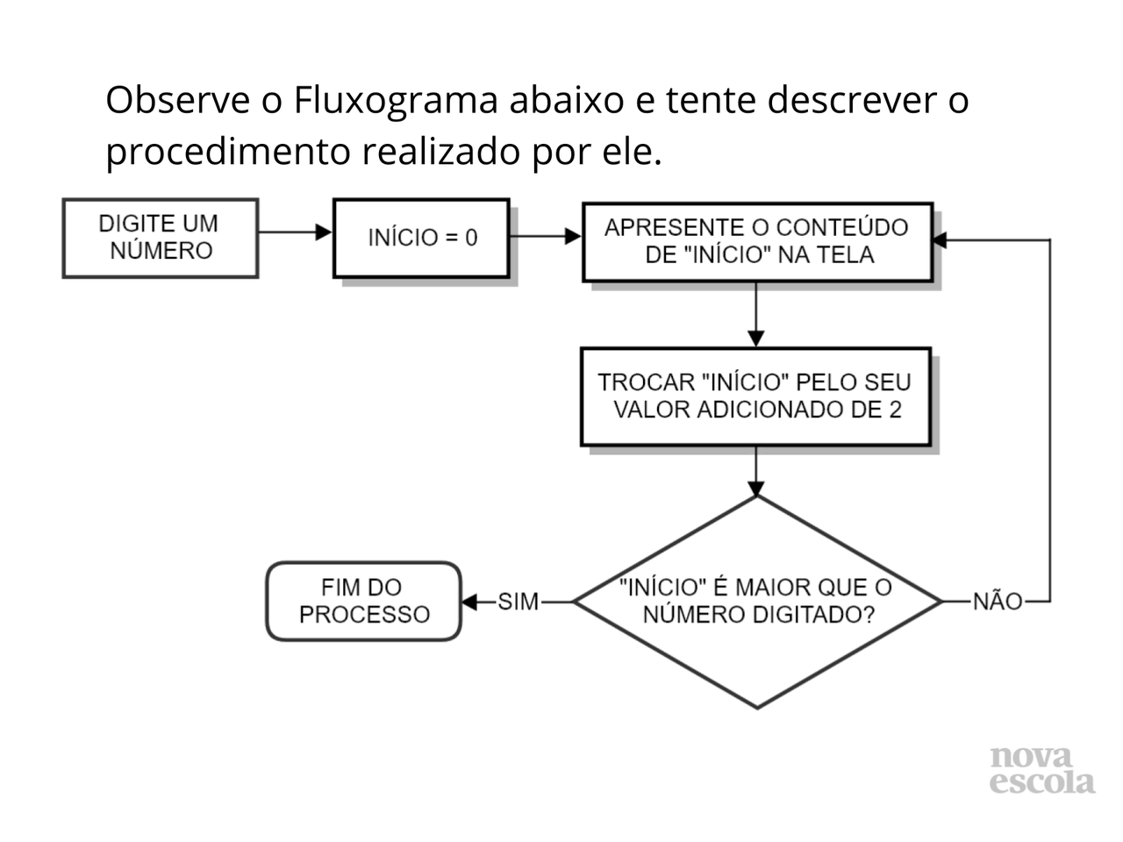 Conhecendo diferentes estruturas aplicadas aos Fluxogramas