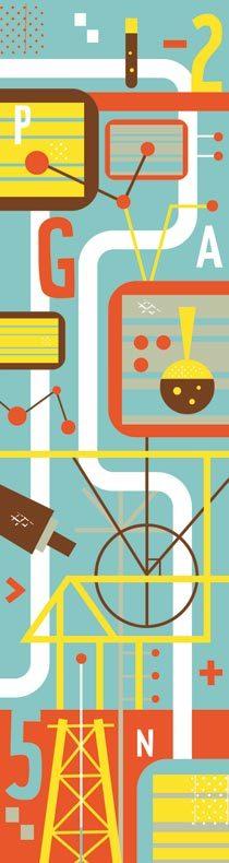 Pontos importantes sobre a formação de uma biblioteca digital. Ilustração: Daniel Bueno
