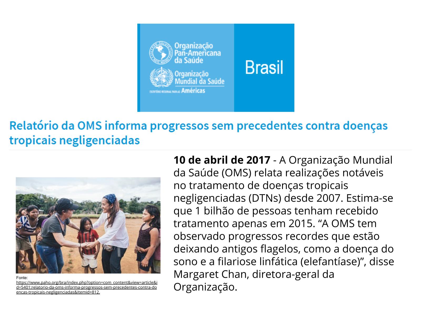 As doenças negligenciadas no Brasil