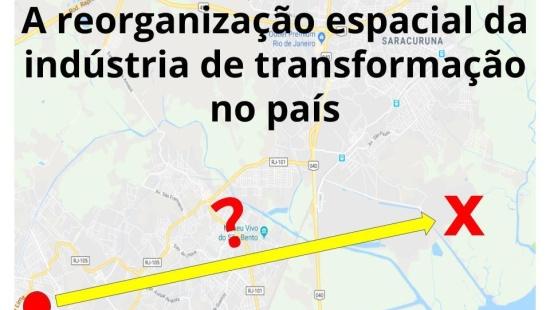 A desconcentração industrial na maior metrópole brasileira.