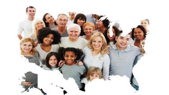 As minorias nos Estados Unidos